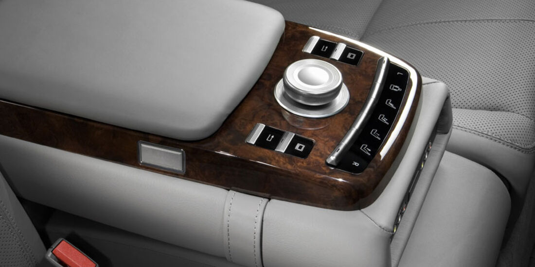 Mercedes S-Klasse, Armlehne, Regler
