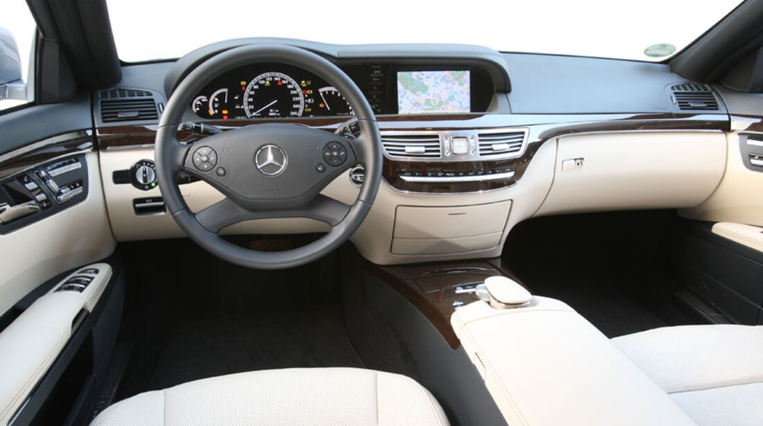 Mercedes S-Klasse, Cockpit, Innenraum