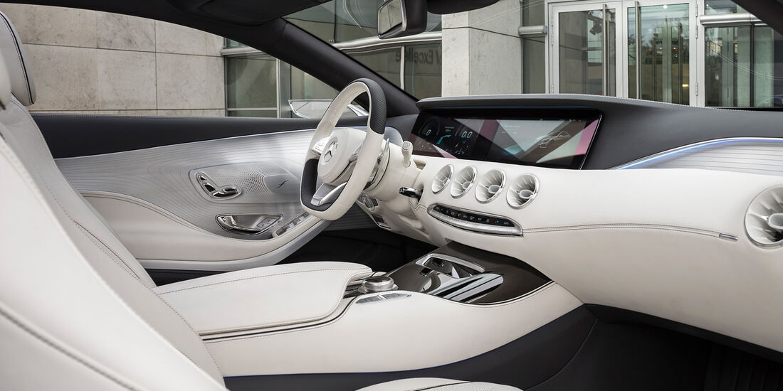 Mercedes S-Klasse Coupé Concept, Cockpit