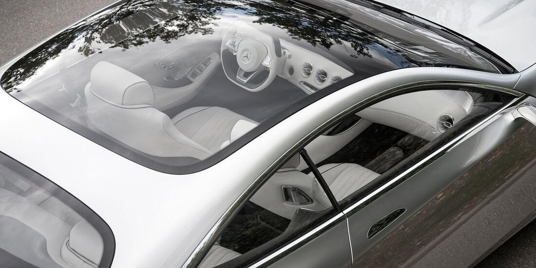 Mercedes S-Klasse Coupé Concept, Panoramadach