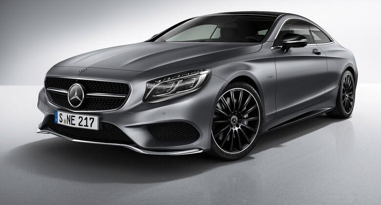 Mercedes S-Klasse Coupé Night Edition