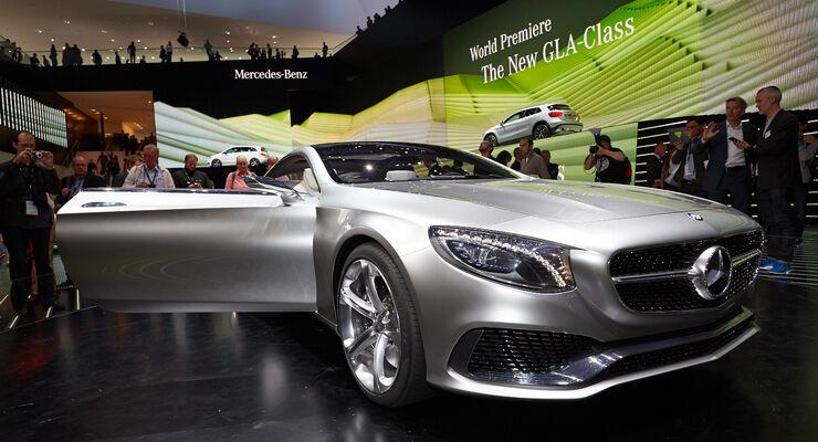 Mercedes S-Klasse Coupe Concept