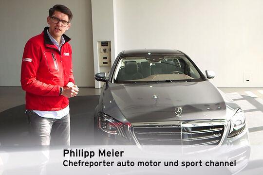 Mercedes S-Klasse Facelift Phillip Meier
