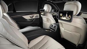 Mercedes S-Klasse, Fond, Sitzkomfort-Paket