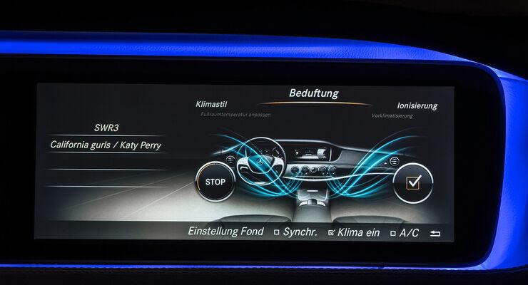 Mercedes S-Klasse, Innenraum, Beduftung, Air Balance