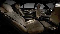 Mercedes S-Klasse Interieur, Innenraum, Fond
