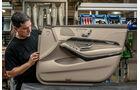 Mercedes S-Klasse Interieur, Türverkleidung