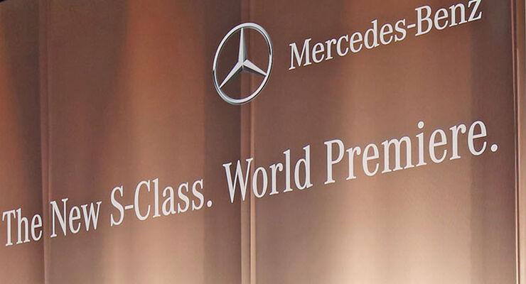 Mercedes S-Klasse Premiere Hamburg