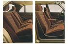 Mercedes S-Klasse, W126, Fond, Rückbank, Prospekt