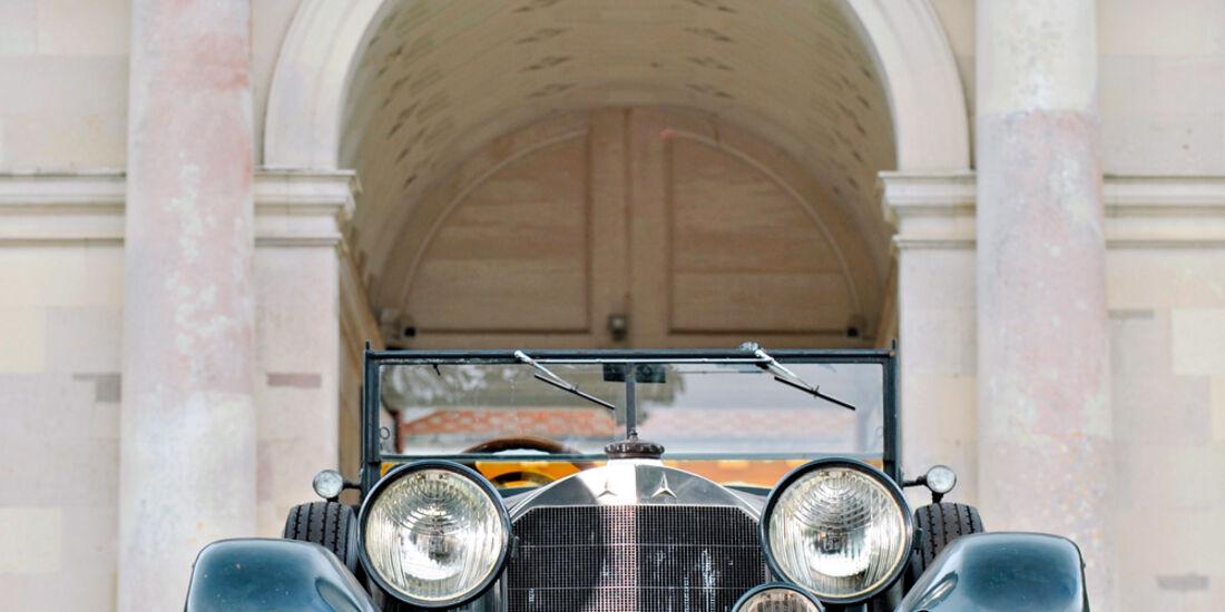 Mercedes S Kompressor, Frontansicht