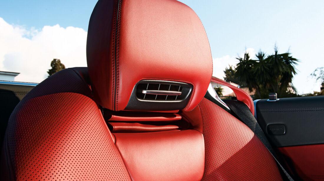 Mercedes SL 500, Sitz, Kopfstütze