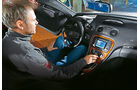 Mercedes SL 55 AMG, Cockpit, Mittelkonsole