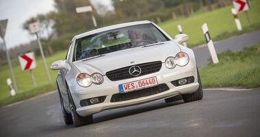 Mercedes SL 55 AMG, Exterieur