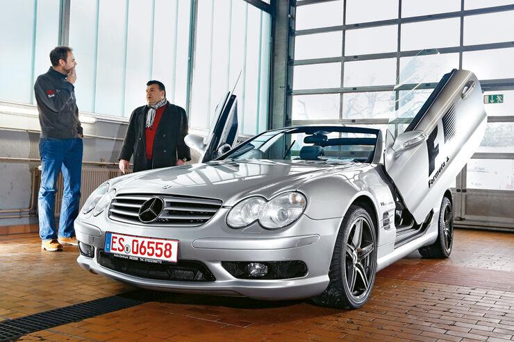 m6 cabrio sl 55 amg 911 turbo gebrauchte 300km h sportwagen auto motor und sport. Black Bedroom Furniture Sets. Home Design Ideas