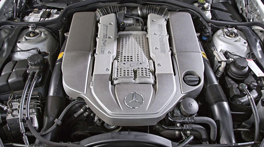 Mercedes SL 55 AMG, Motor