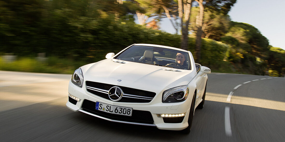 Mercedes SL 63 AMG, Front