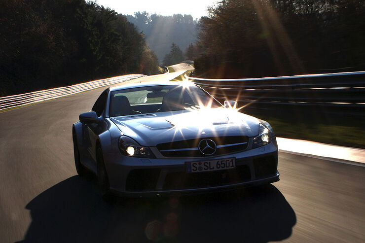 Mercedes SL 65 AMG Black Series