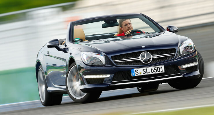 Mercedes SL 65 AMG, Driften