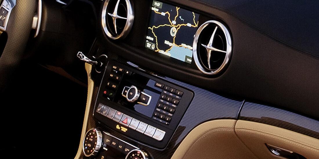 Mercedes SL 65 AMG, Innenraum