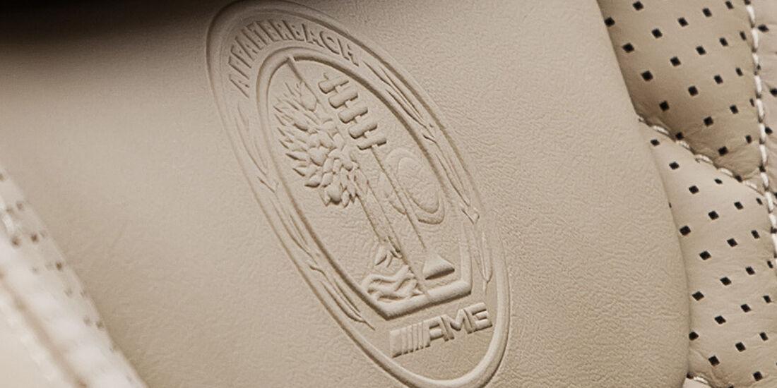Mercedes SL 65 AMG, Sitze, AMG Logo