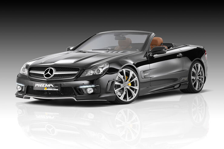mercedes sl r230 von piecha klassik roadster in modern. Black Bedroom Furniture Sets. Home Design Ideas
