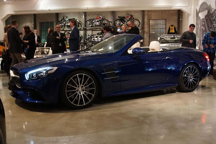 Mercedes SL Sitzprobe Gregor Hebermehl L.A. Autoshow