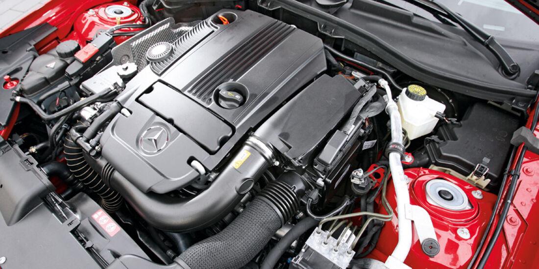 Mercedes SLK 250, Motor