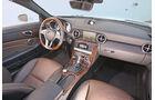 Mercedes SLK 350, Innenraum, Cockpit