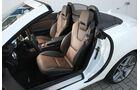 Mercedes SLK 350, Innenraum, Vordersitze
