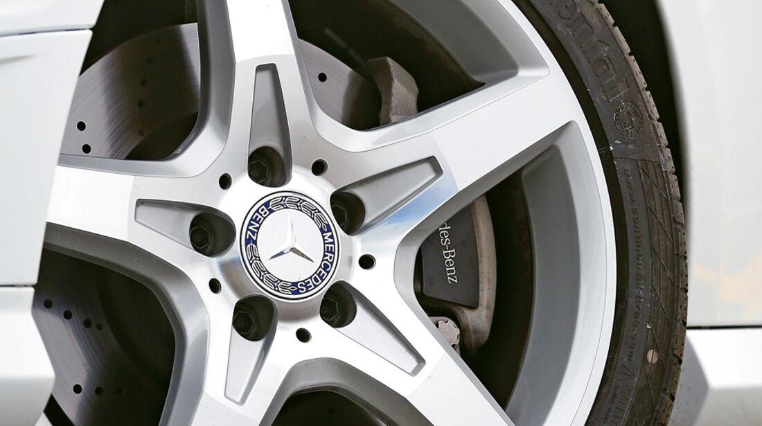 Mercedes SLK 350, Rad, Felge, Bremse