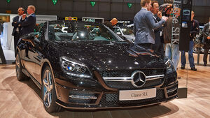 Mercedes SLK CarbonLook Edition, Genfer Autosalon, Messe, 2014