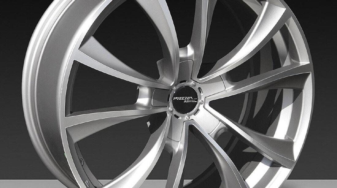 Mercedes SLK R172 Accurian RS, Felge Monoblock