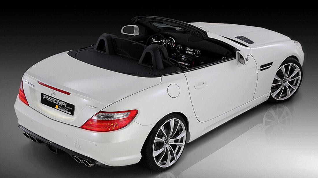 Mercedes SLK R172 Accurian RS, Heck