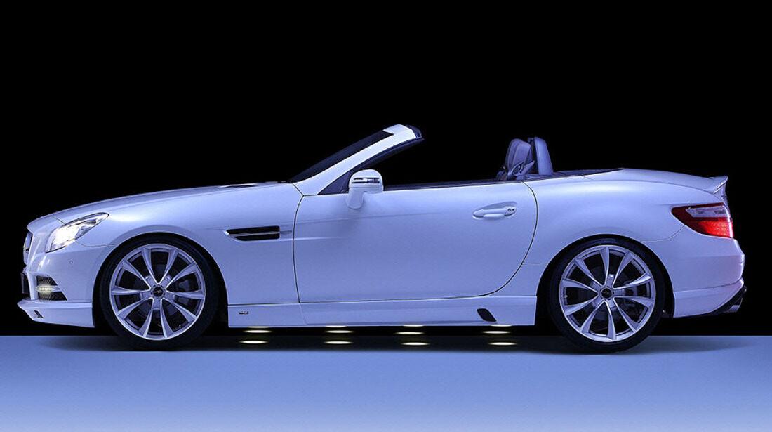 Mercedes SLK R172 Accurian RS, Seite, Einbaustrahler