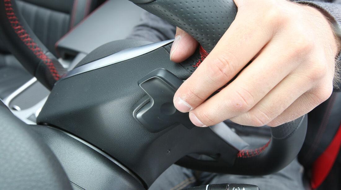 Mercedes SLK, Wippschalter