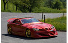 Mercedes SLR McLaren 999 Red Gold Dream