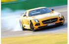 Mercedes SLS AMG Black Series, Frontansicht, Driften
