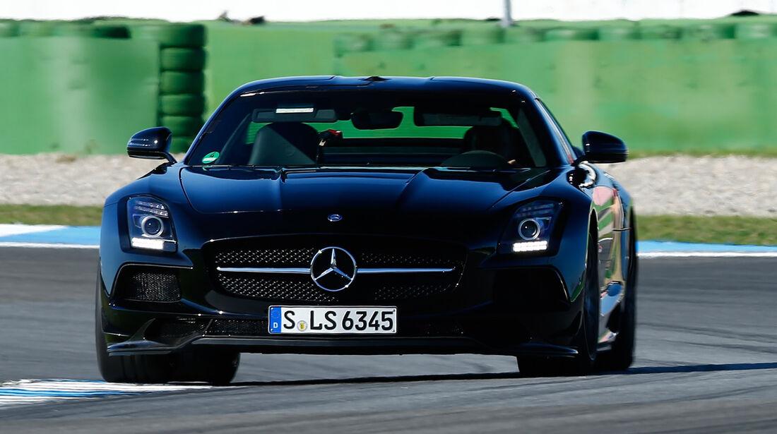 Mercedes SLS AMG Black Series, Frontansicht