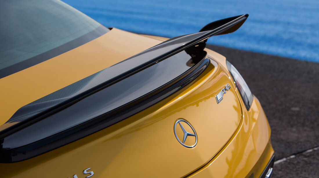 Mercedes SLS AMG Black Series, Heckspoiler, Heckschürze