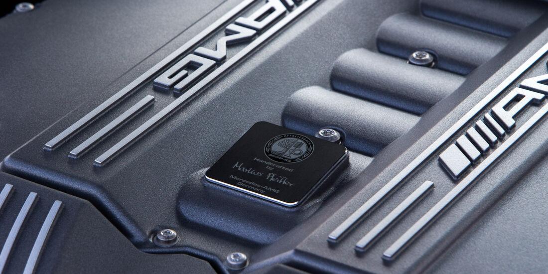 Mercedes SLS AMG Black Series, Motor