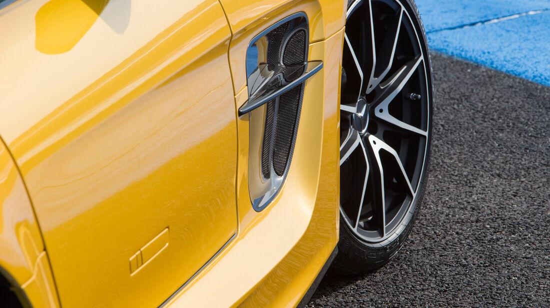 Mercedes SLS AMG Black Series, Rad, Felge, Seitenführung