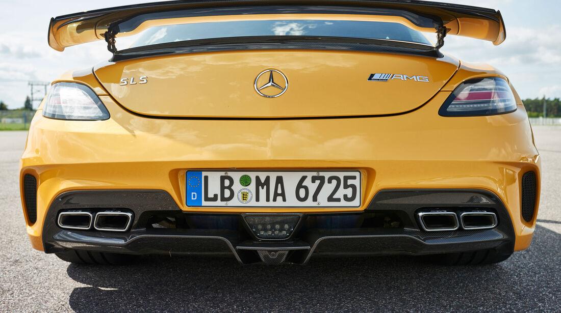 Mercedes SLS AMG Black Series - Sportwagen - 50 Jahre AMG