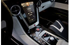 Mercedes SLS AMG E-Cell, Mittelkonsole, Display