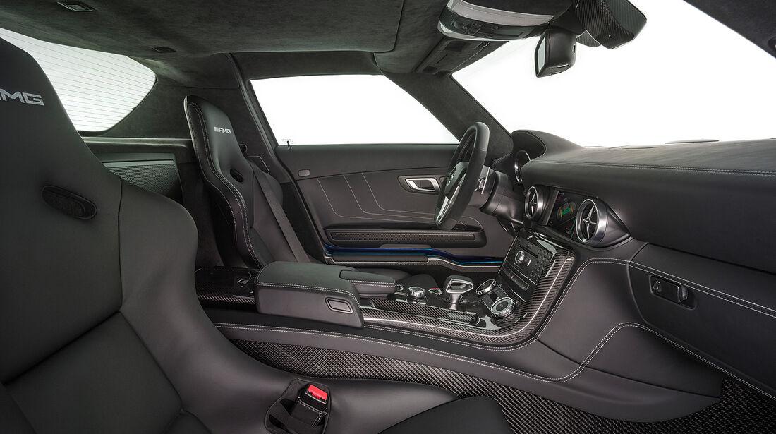 Mercedes SLS AMG Electric Drive, Inneraum