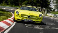 Mercedes SLS AMG Electric Drive Nürburgring Nordschleifenrekord