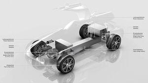Mercedes SLS AMG Flügeltürer Elektroantrieb