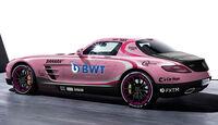 Mercedes SLS AMG - Force India VJM10 - Lackierung