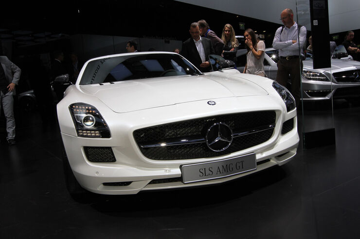 Mercedes SLS AMG GT Roadster, Messe, Autosalon Paris 2012