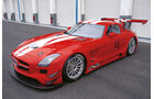 Mercedes SLS AMG GT3, ANTeam Motorsport, Seitenansicht