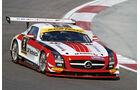 Mercedes SLS AMG GT3, Black Falcon, Frontansicht